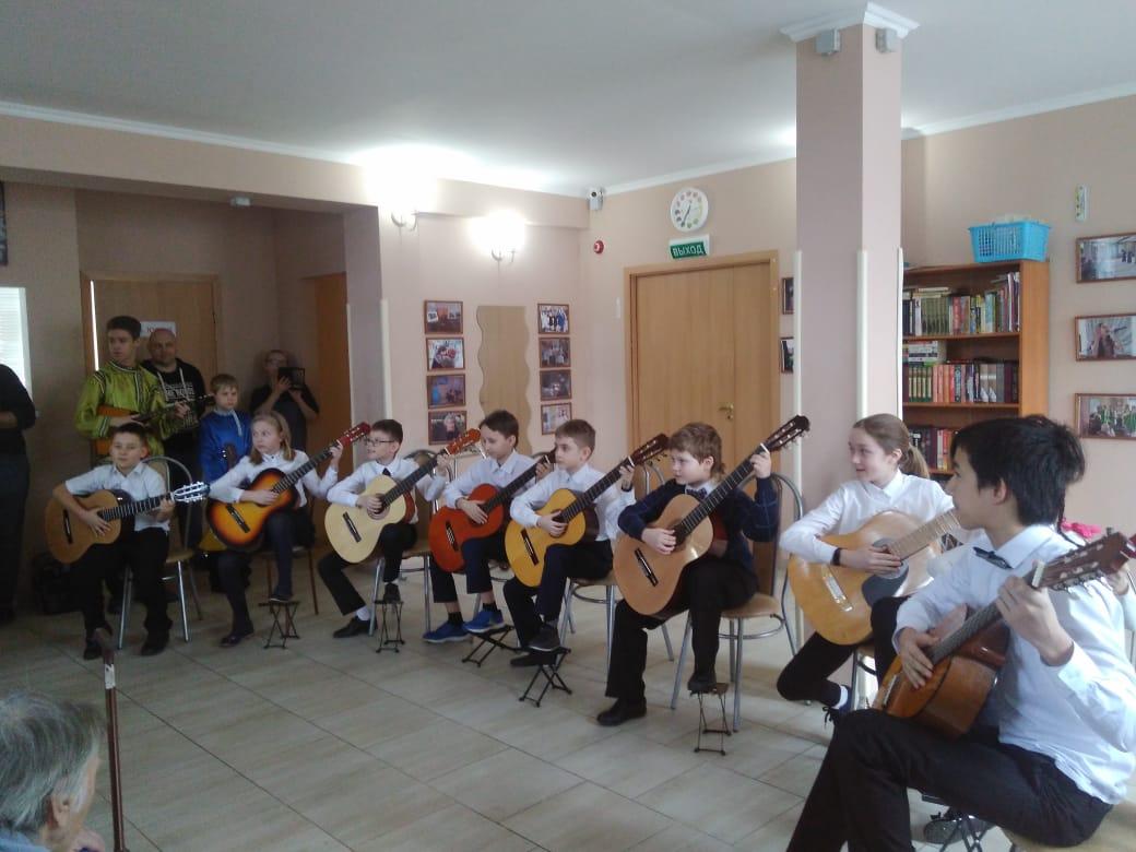 Концерт детей из дома творчества
