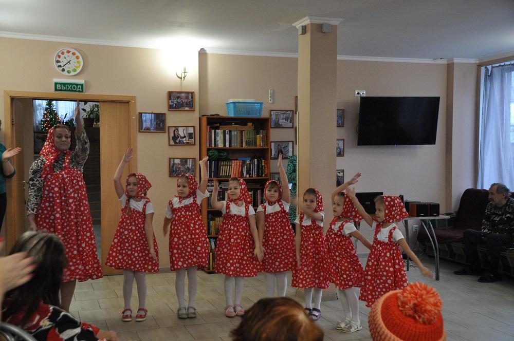 Предновогодний концерт воспитанников ГБДОУ детского сада Выборгского района