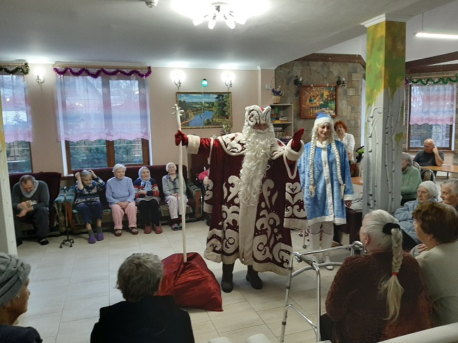 Новый год в пансионате Осиновая Роща