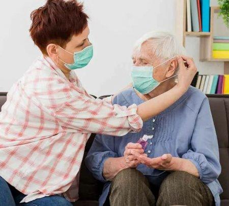 Профилактика COVID-19 в пансионах для пожилых людей